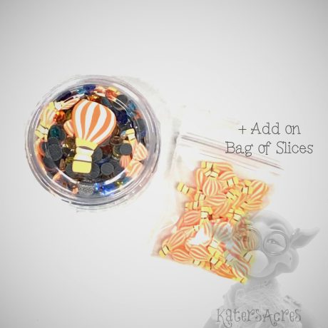 Hot Air Balloon Crystals & Slices with Add-on Bag from Kater's Acres