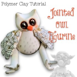 Jointed Owl Tutorial by Kater's Acres