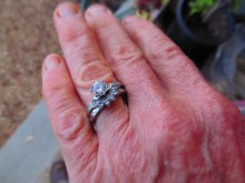 Mrs. B's wedding ring
