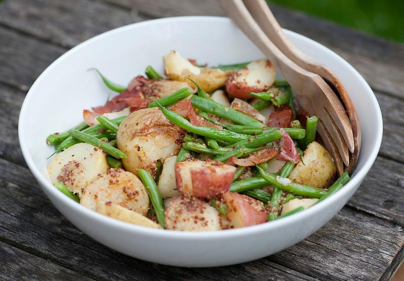Warm Potato Green Bean Salad