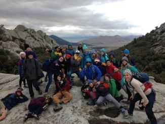 City of Rocks- students