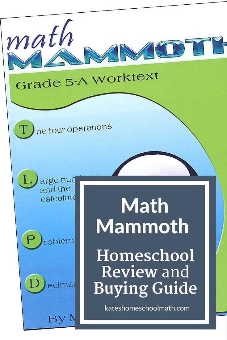 medium resolution of Math Mammoth Review: An affordable option for busy families