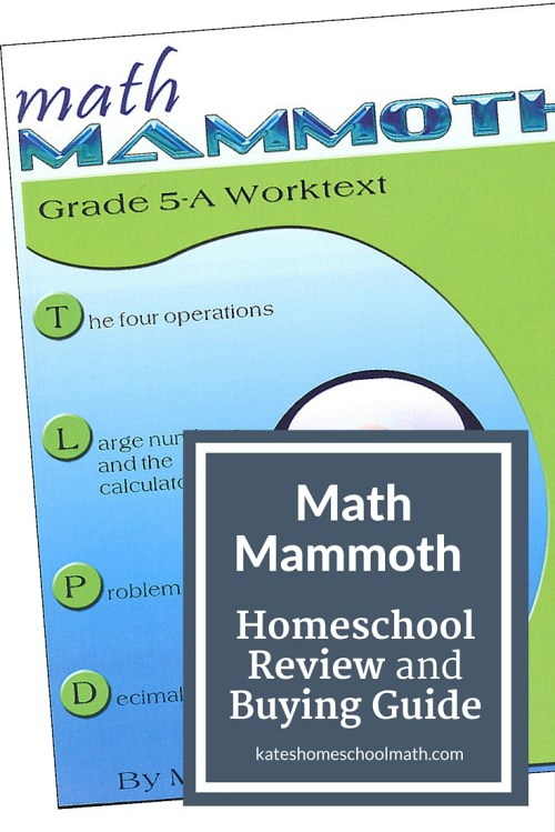 small resolution of Math Mammoth Review: An affordable option for busy families