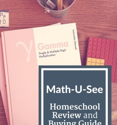 Math-U-See Review and Buying Guide - Kate Snow - Homeschool Math Help [ 1102 x 735 Pixel ]
