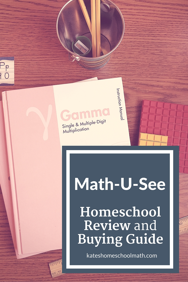 hight resolution of Math-U-See Review and Buying Guide - Kate Snow - Homeschool Math Help