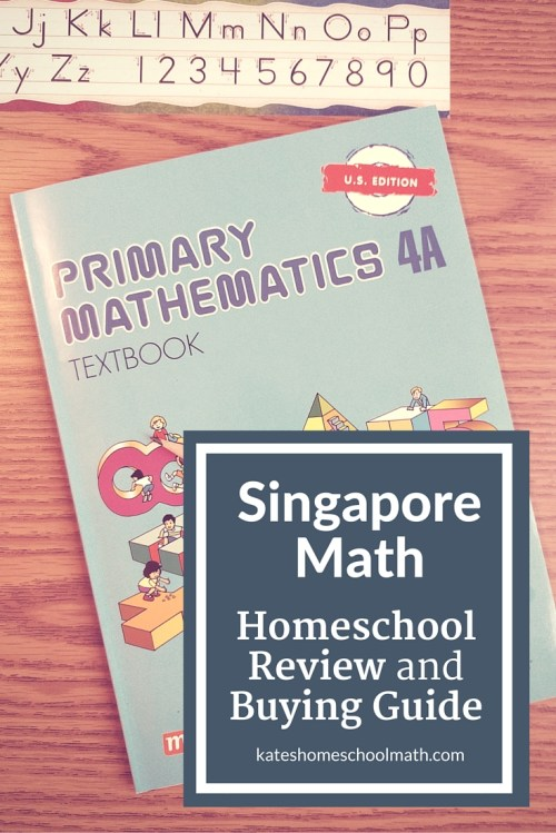 small resolution of Singapore Math Review and Buying Guide for Homeschoolers