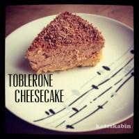 Tooooooo Tasty Toblerone Cheesecake