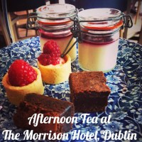 Afternoon Tea at The Morrison Hotel, Dublin