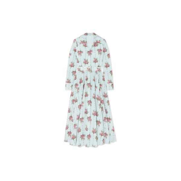 Kate Middleton Emilia Wickstead Aurora Belted Dress