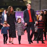 The Cambridges Attend a Christmas Pantomime