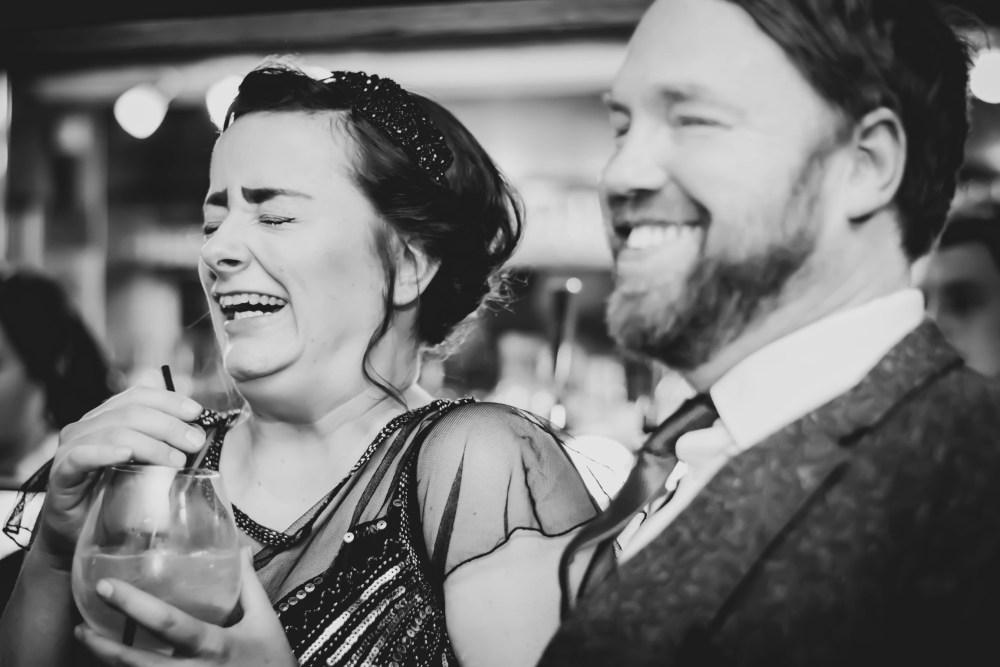 Kate Stoddart-Scott Photography, B&W Image, Happy couple
