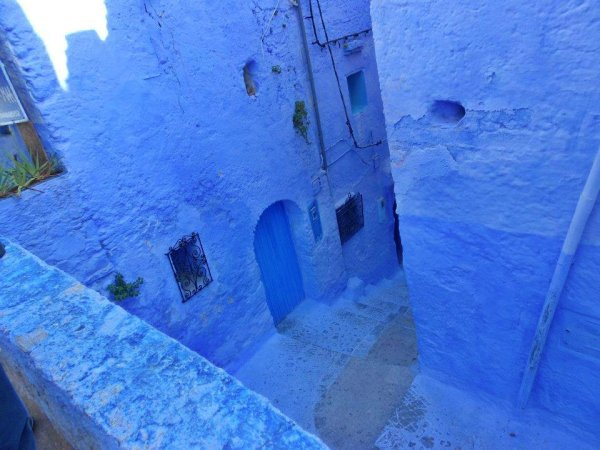 morocco blue city day trip