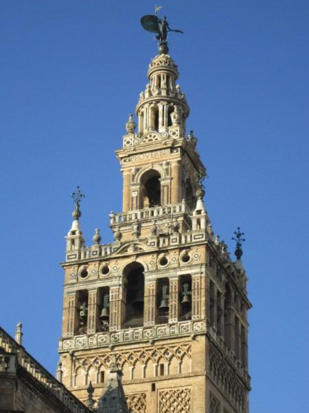 la giralda seville Golden Triangle of Andalucía