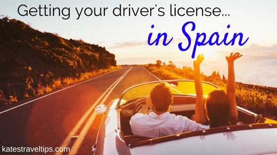 driver's license in Spain automatic car