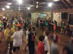 Square dancing speedily