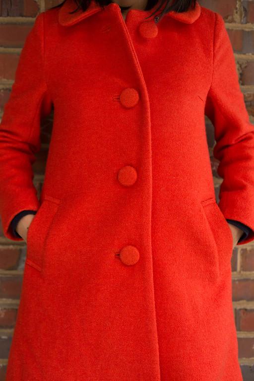 ASOS Petite Swing Dolly Coat