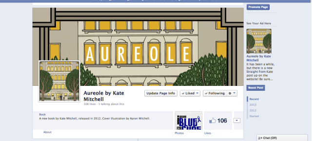 Aureole by Kate Mitchell Facebook