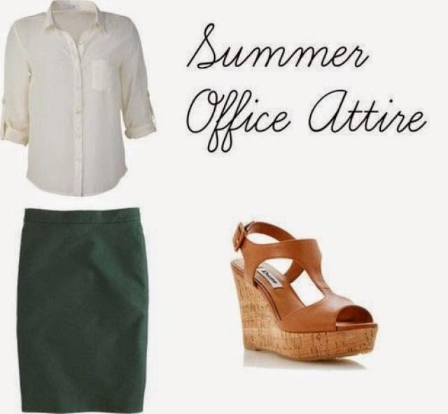 formal office clothing summer