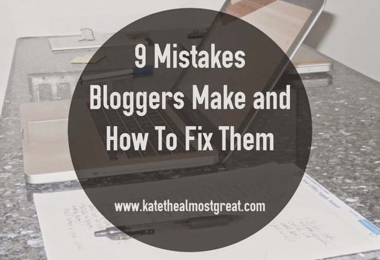 Successful Blogging Tips - Kate the (Almost) Great