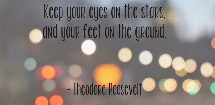 Inspirational Quotes - Theodore Roosevelt Kate the (Almost) Great