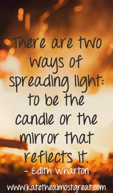 Edith Wharton Inspirational Quote