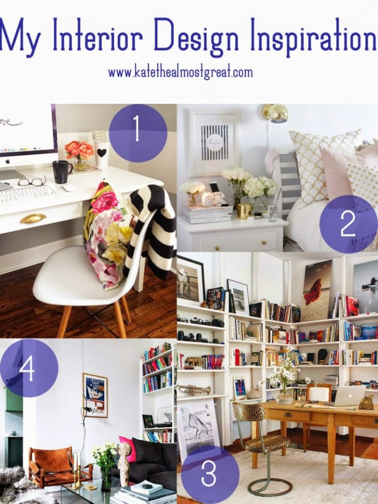 Interior Design Inspiration - Kate the (Almost) Great