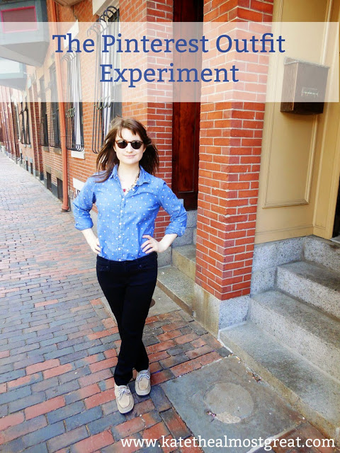 The Pinterest Outfit Experiment - Kate the (Almost) Great
