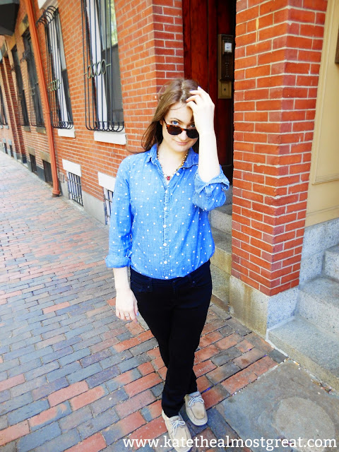 Pinterest Clothes Experiment Outfit 1 - Kate the (Almost) Great