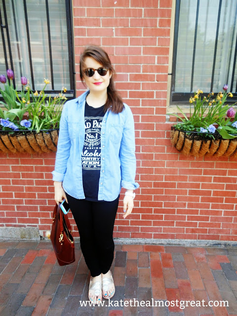 Pinterest Clothes Experiment Outfit 2 - Kate the (Almost) Great