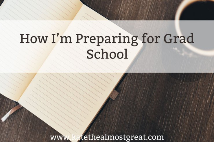 Ways to Pay for Grad School - Kate the (Almost) Great