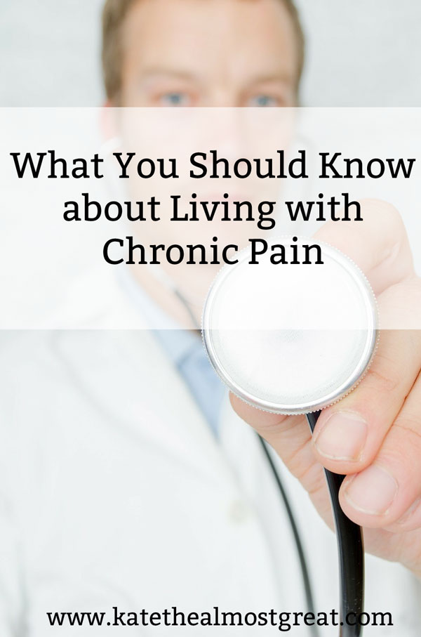 Chronic Pain: What You Should Know