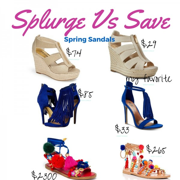 Splurge vs. Save