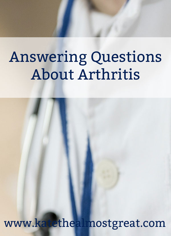 Arthritis Info: Answering Arthritis FAQ