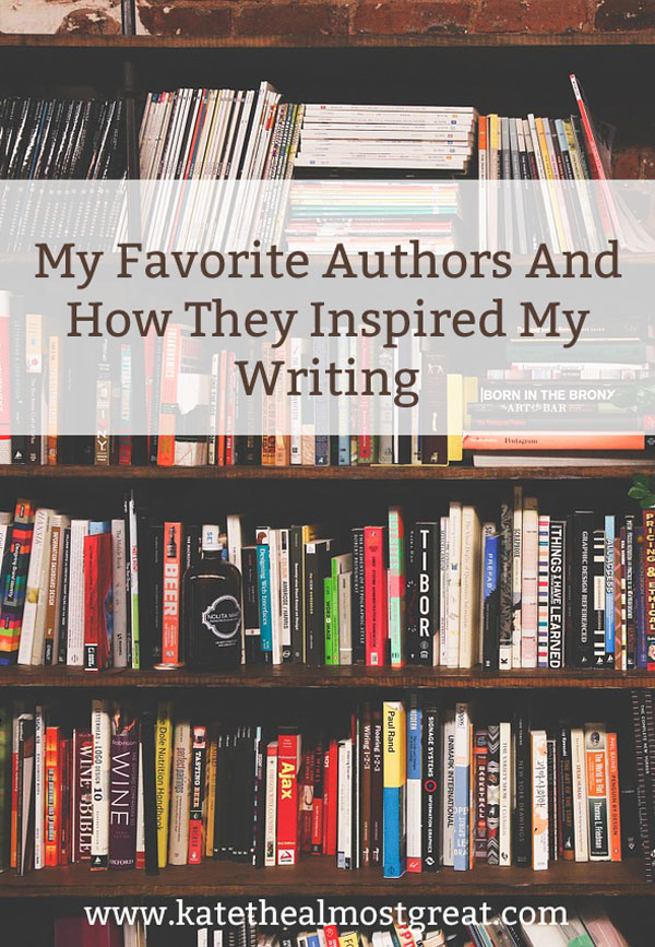 My Favorite Authors Authors And How They Inspired Me