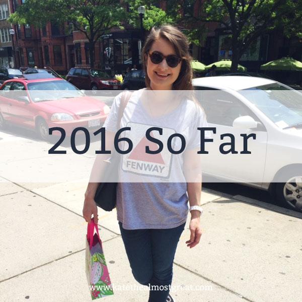 2016 So Far