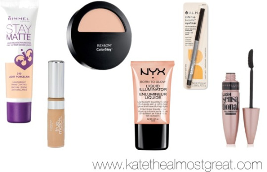 Drugstore Everyday Makeup Kate the Almost Great