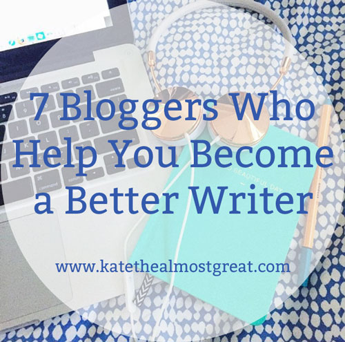 7 Amazing Writing Bloggers