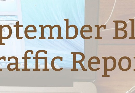 Blog Traffic Report: September 2016