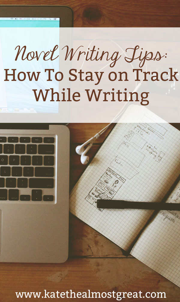 It's so easy to get distracted while writing or to be on top of things until you hit a rough couple of weeks. Here are my strategies to stay on top of your writing goals no matter what.