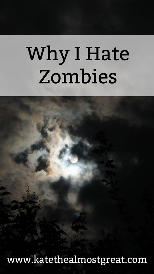 The story behind my fear and hatred of zombies, which includes the story of my biggest ankle surgery.