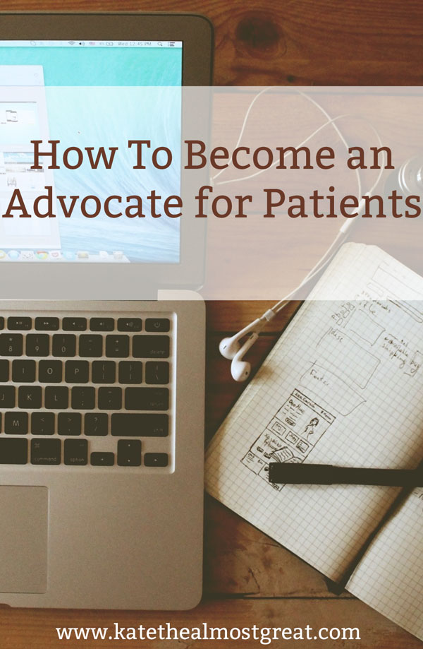 Looking to support patients who have a particular condition or illness? Check out these 6 elements of becoming an advocate and go out and change the world!