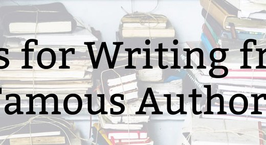 Tips for Writing from Famous Authors