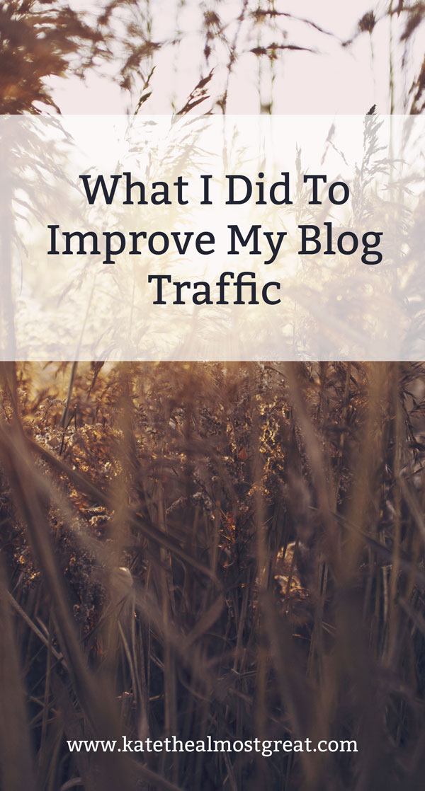 November Blog Traffic Report