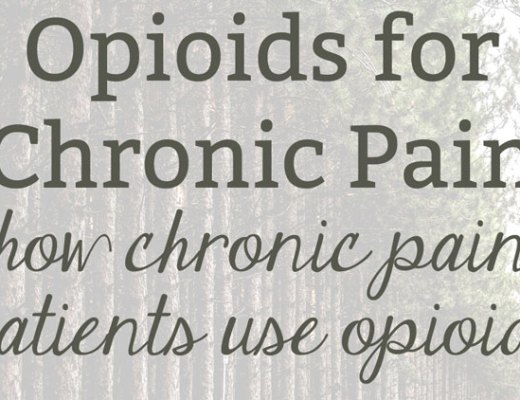 How and why chronic pain patients use opioids