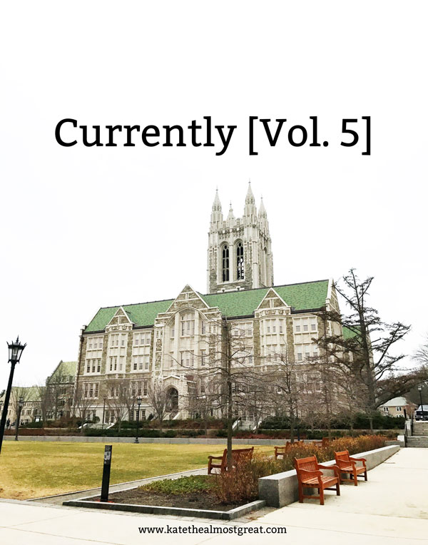 Currently [Vol. 5]