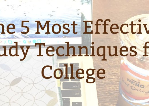 5 Most Effective Study Techniques for College