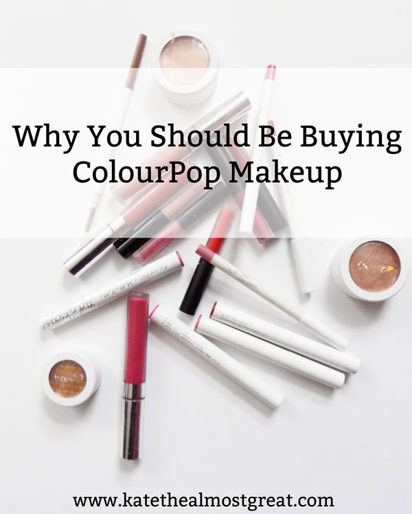 If you're interested in makeup, you've probably heard about ColourPop. If you've ever wondered whether or not it's worth it (it is), check out these reasons why you should be buying ColourPop makeup.
