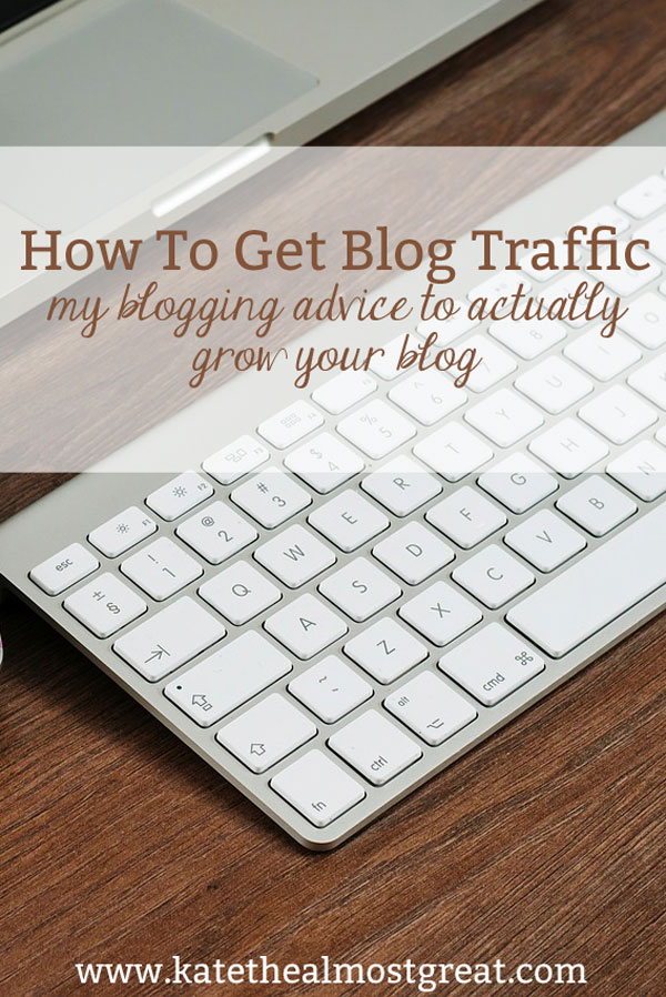 After several months of traffic goes all over the place, I decided on a new strategy to grow my blog. Check out my tips for how to get blog traffic based on what I did this month, what worked, and what didn't.
