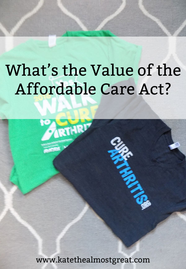 A key element of political discourse in America over the past few years has been the Affordable Care Act. In order to look at its value, I explain the different ways it helps me personally, as well as other ways it helps other people.