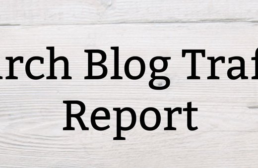 March Blog Traffic Report   Kate the (Almost) Great